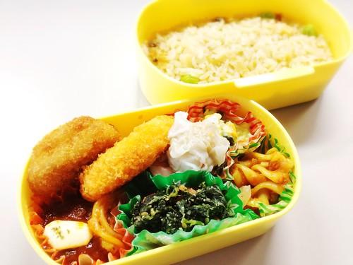 今日のお弁当 No.265 – 炊き込みご飯
