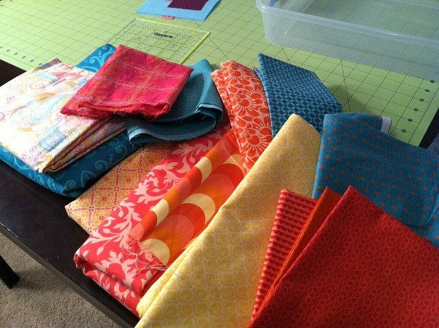 Mystery project fabric has multiplied!