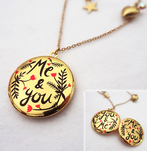 Me and You Double Sided Locket