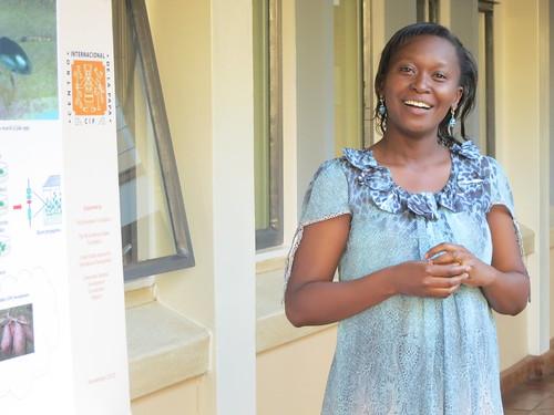 Nairobi visit by WB VP Rachel Kyte: Lydia Walmalwa presents