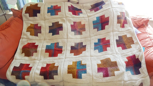 Mitred Crosses Blanket