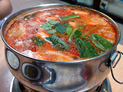 Tom Yam Soup - The Thick, or Cloudy, Version