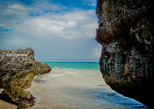beach water mexico tulum caribbean