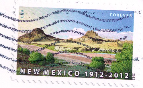 USA New Mexico Statehood Stamp