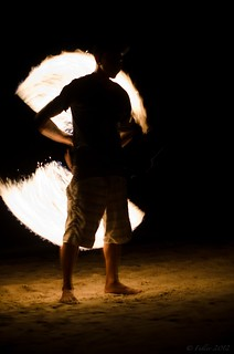 Backlit Twirl