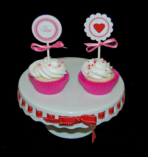 New Trends in Cupcakes Class - Valentine's Day Party Printables