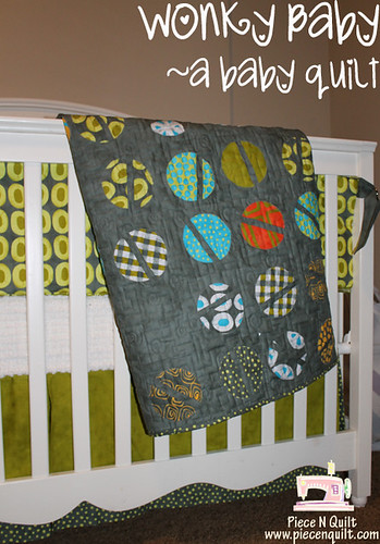 Wonky Baby Free Quilt Tutorial