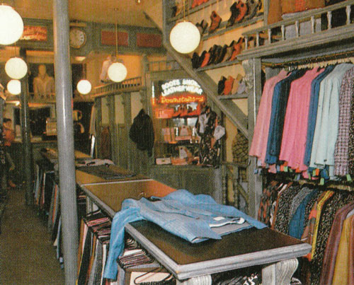 Johnson's King's Road 1986 - interior (from Ni Ikitai London)