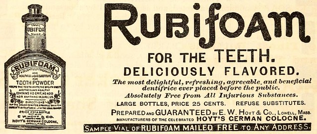 Rubifoam Tooth Powder