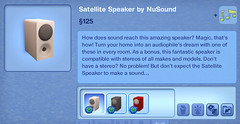 Satellite Speaker by NuSound