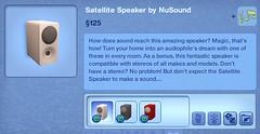 Satellite Speaker by NuSound