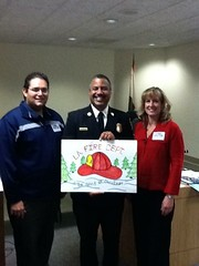 LAFD Chief Brian Cummings Honored by Boys and Girls Clubs of L.A. Harbor.