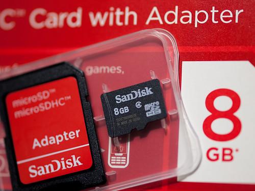 SanDisk 8GB microSDHC