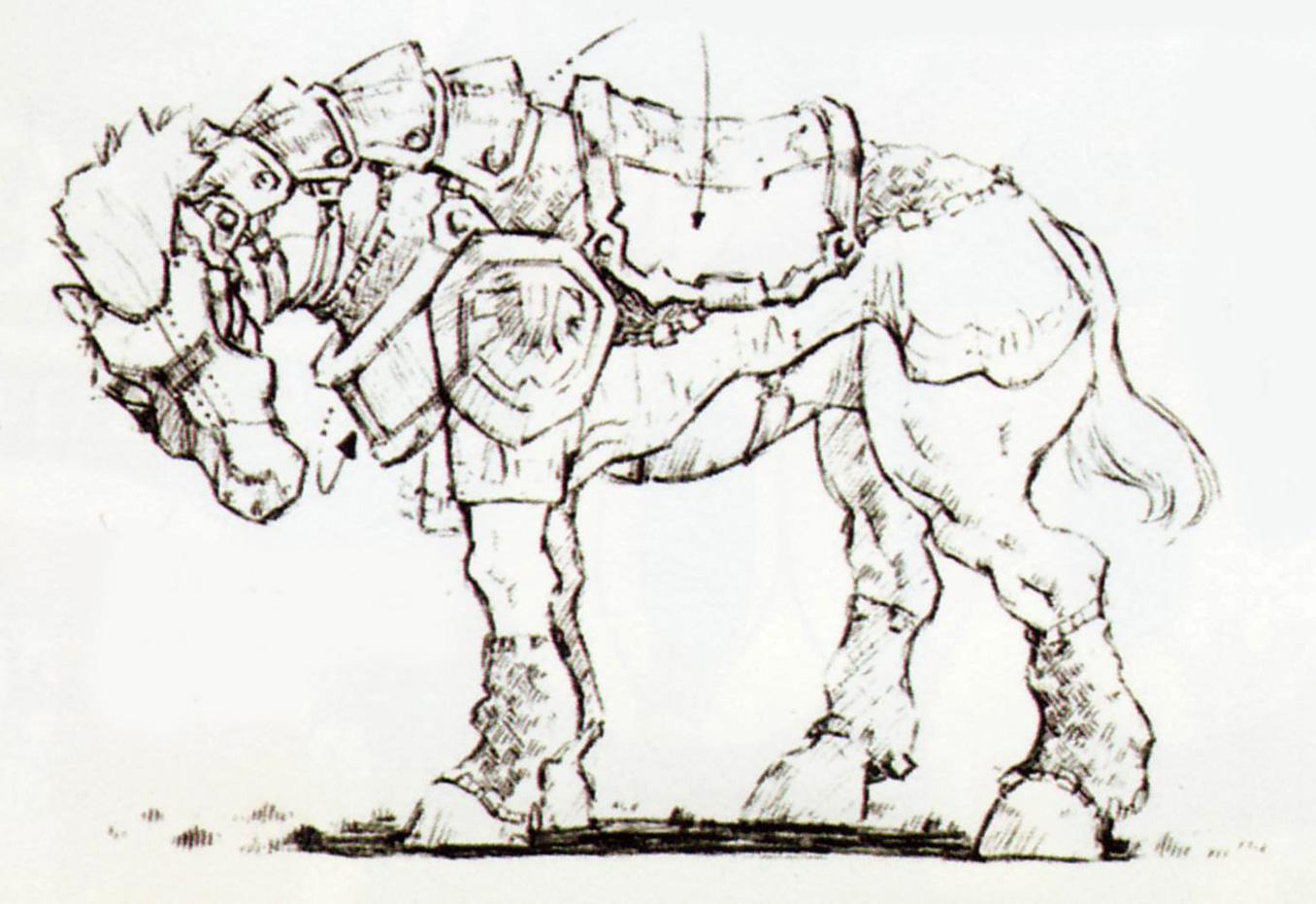 OoT Ganondorf's Horse