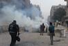 Tear Gas everywhere