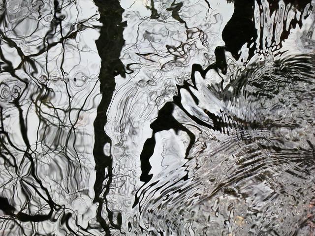 Race Brook turbulence and reflection