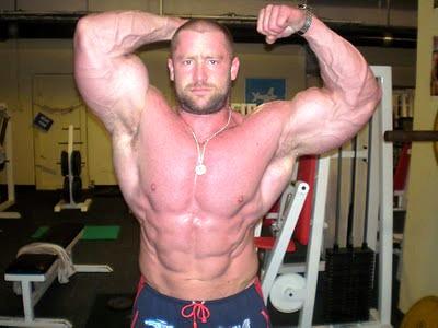 Radek Lonc & Super Biceps & Beard & Gym