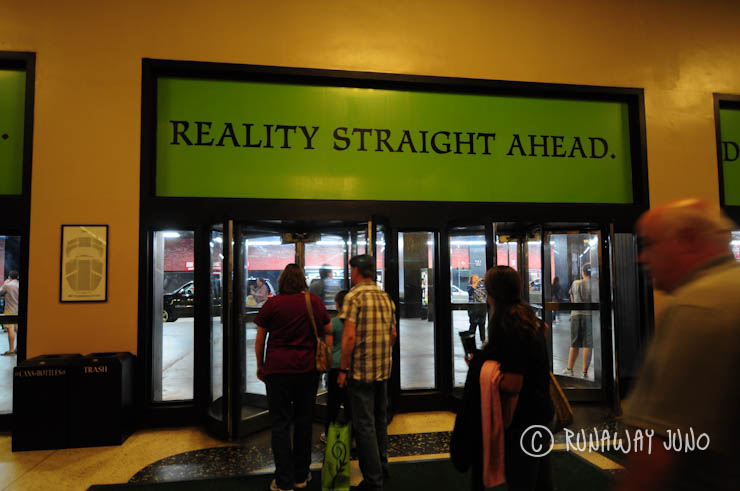 Wicked Theater Reality Straight Ahead