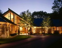 Front view of home at duck from the drive