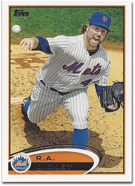 2012 Topps R.A. Dickey