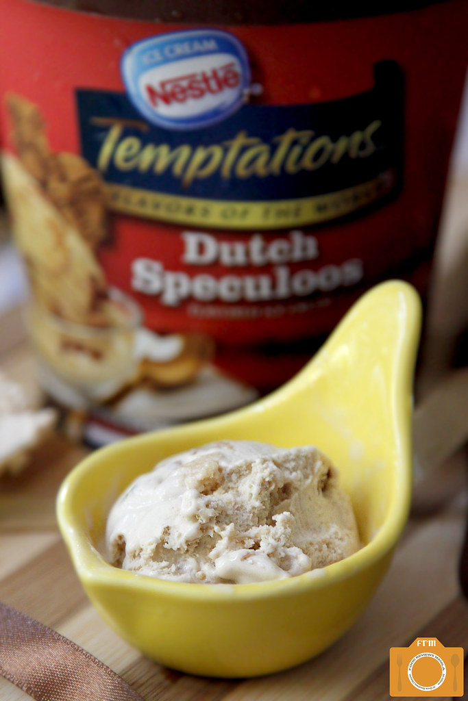 Nestle Ice Cream Temptations Dutch Speculoos scoop