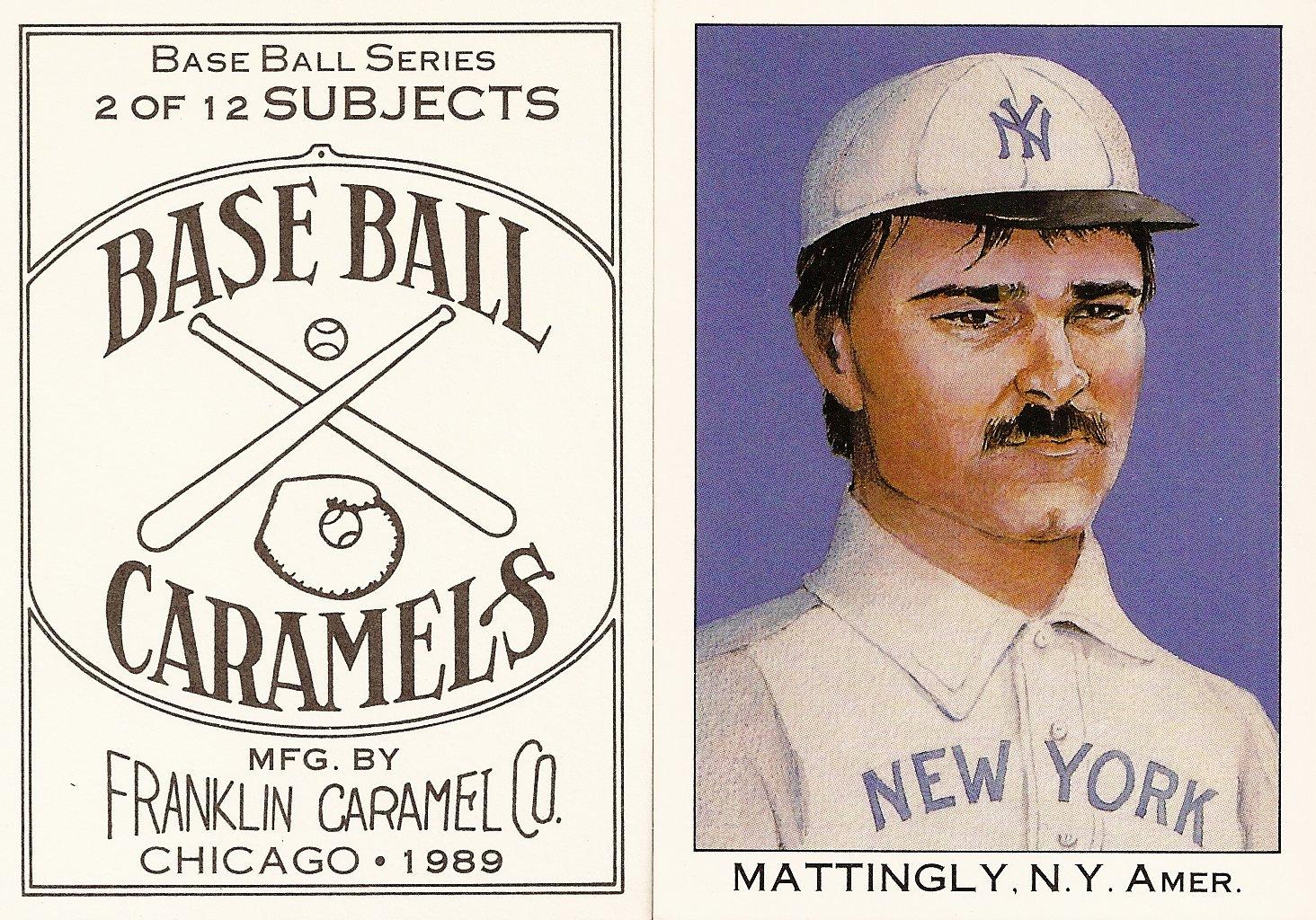 1989 Franklins Caramels Series 2