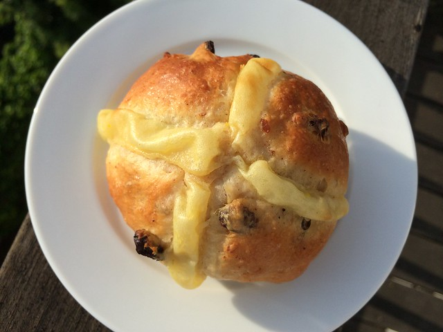 Hot cross bun - Noe Valley Bakery