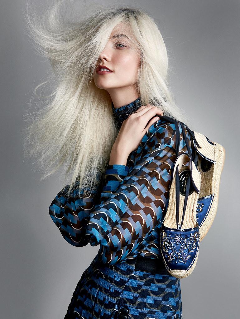 Карли Клосс — Фотосессия для «Vogue» 2016 – 4