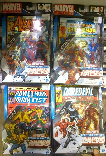 New Marvel Universe 2-packs are in!