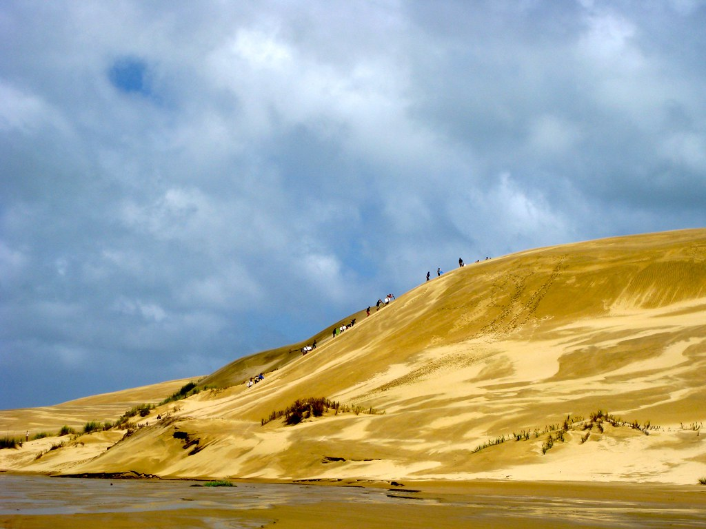 Te Paki Sand Dunes, Northland, New Zealand