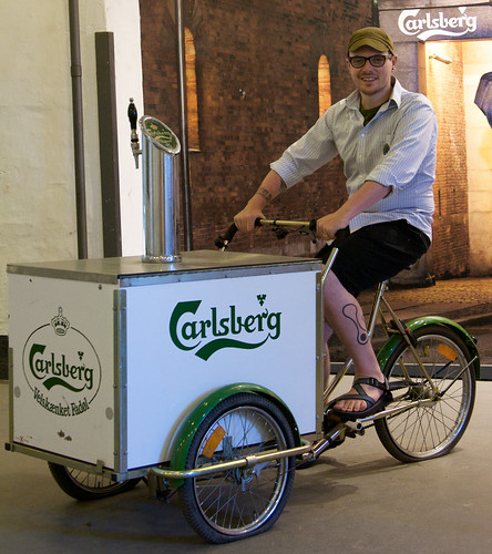 Tricycle at Carlsberg Brewery