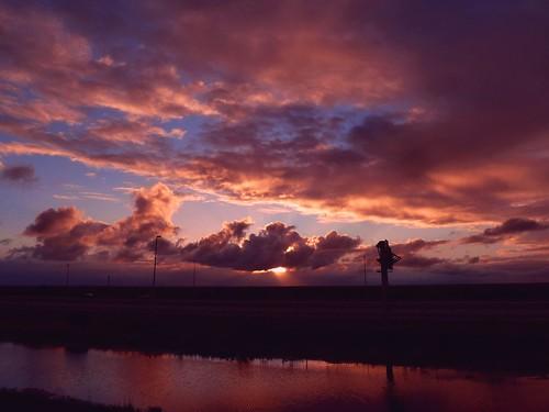 sunset nature beauty landscape colorful unitedstates florida hometown dramatic everglades cloudscape floridaeverglades southflorida southnorth hometownsunset coralspringsflorida thesawgrassexpressway