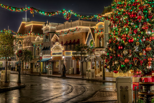 Christmas at Disneyworld