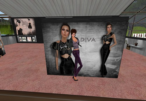 aDiva couture Monochrome Formal Wear Velvet Jumpsuit, 525 lindens by Cherokeeh Asteria