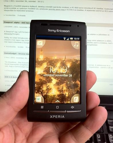 Sony Ericsson Xperia #2