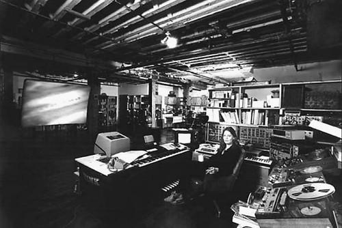 Laurie Spiegel's Studio