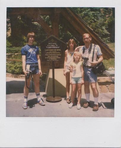 a family polaroid
