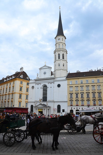 Carro de caballos en Viena