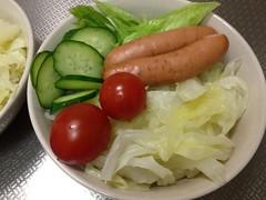 朝食サラダ(2011/11/28)