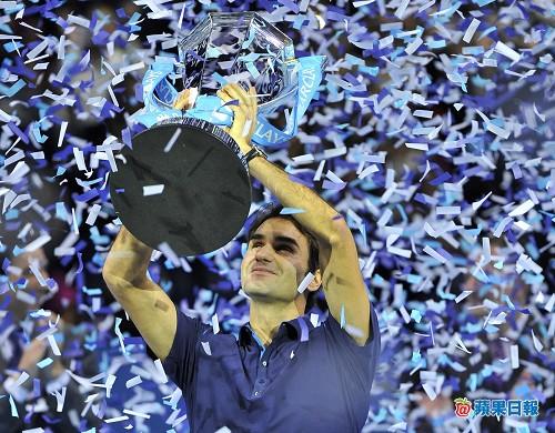 史上第 1 人 費德勒 6 奪 ATP 冠軍