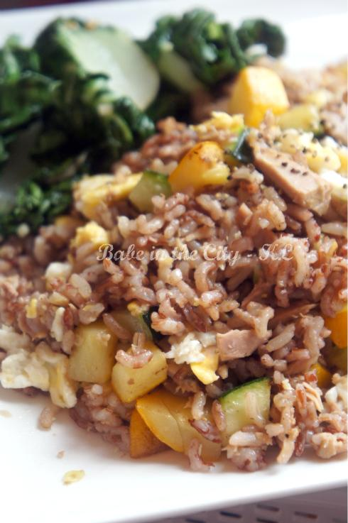 Tuna & Zucchini Fried Rice