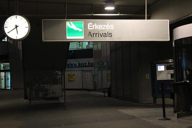 Terminal 2 del Aeropuerto de Budapest