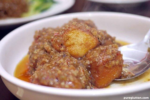 cha cheong tofu