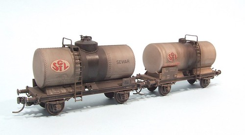 Finished tank wagons
