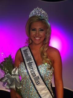 National All-American Miss Teen Kasey Knowles of Kansas