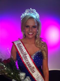 National American Miss Teen Jena Diller of Ohio