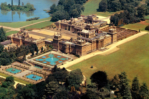 Blenheim Palace - Air View (Postcard) by roger4336