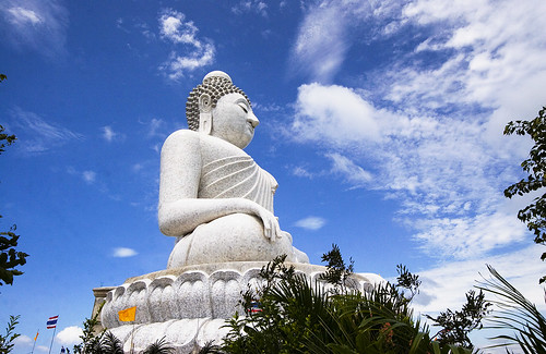 Phuket Big Buddha in November 2011