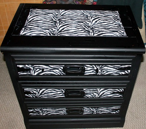 Young Hinkle Dresser Makeover by Rick Cheadle Art and Designs