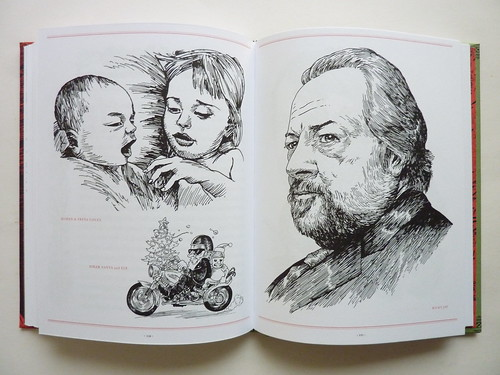 500 Portraits by Tony Millionaire - pages (Ricky Jay et al.)